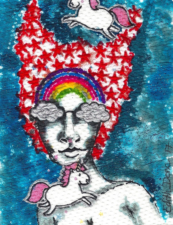 Edith Donc - La tête dans les étoiles