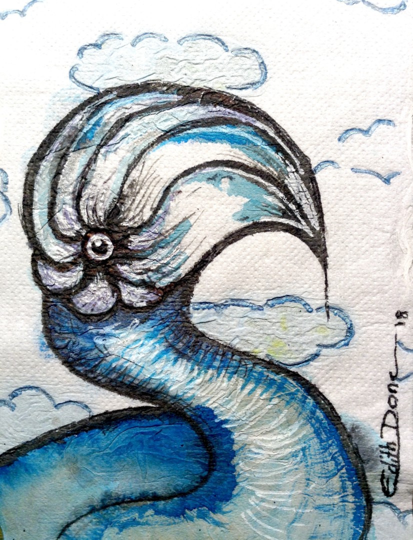 Edith Donc - Drôle d'oiseau