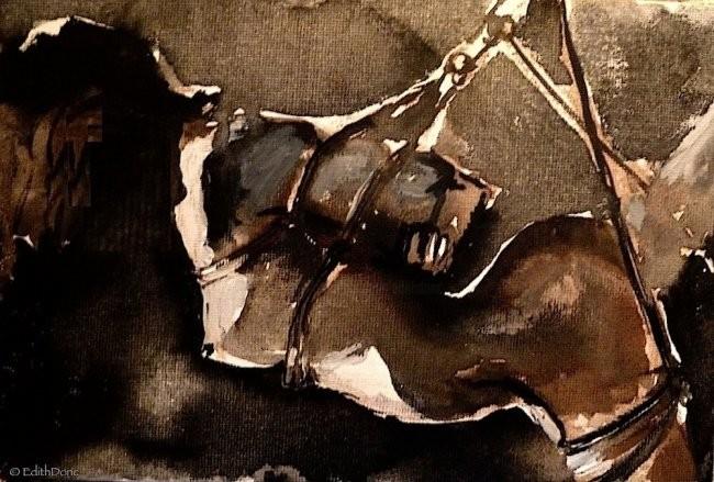 Edith Donc - Shibari by Asa