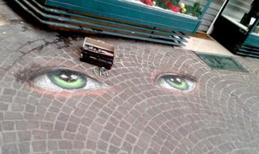 Street painting Noel 2017