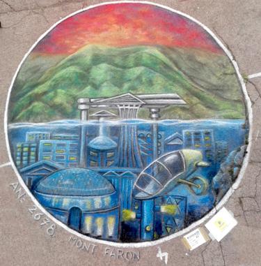 9ème festival street painting de Toulon
