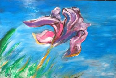 Iris au vent