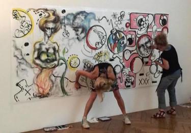 Performance à l'hôtel des Arts
