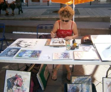 Festival d'arts graphiques en plein air