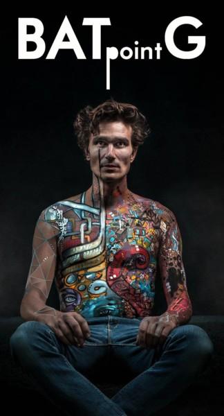 Body-painting pour réalisation photos