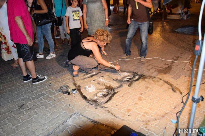EDITH DONC - Nuit blanche / Street Art à Hyères