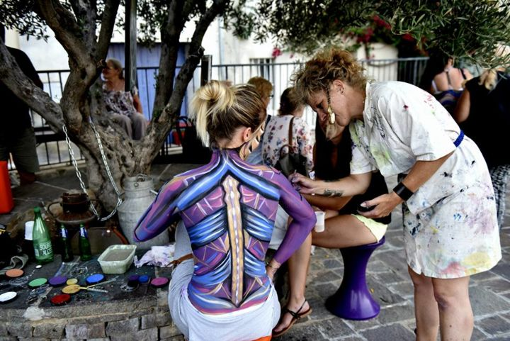 EDITH DONC - Body Painting