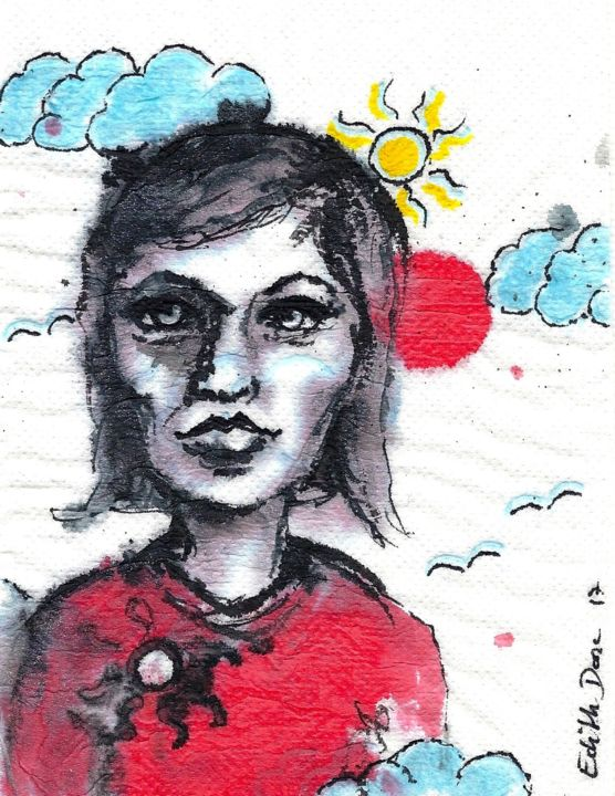 EDITH DONC - Soleil rouge