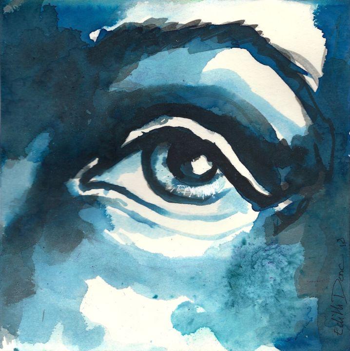 EDITH DONC - L'oeil bleu