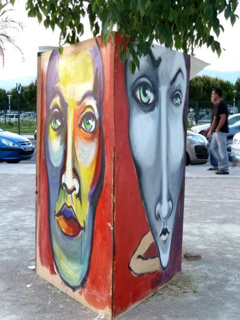 """EDITH DONC - Peinture en direct """"Renk'Art 2012"""""""