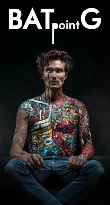 EDITH DONC - Body-painting pour réalisation photos