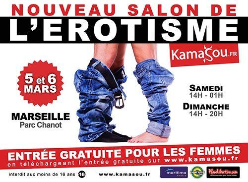 Eropolis,  Salon de l'érotisme,  Kamasou,