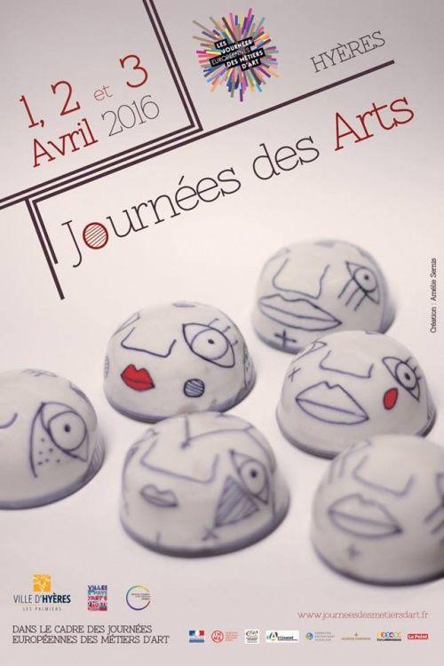 Journée des arts,  Hyères,  Edith Donc