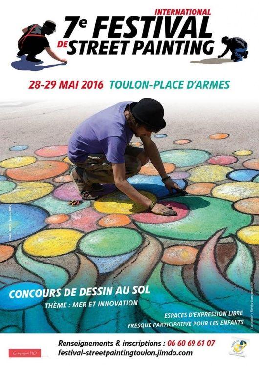7ème Festival International de Street Painting de Toulon,  Edith Donc