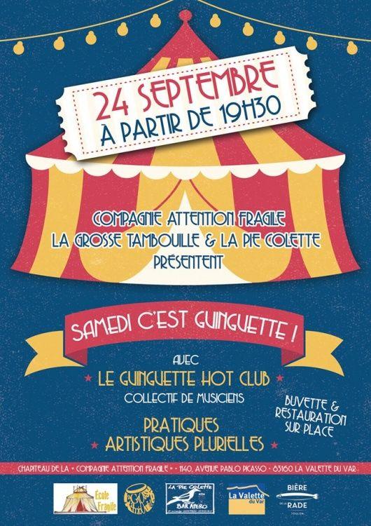 Samedi c'est guinguette,  Guinguette Hot Club,  La Grosse Tambouille,  Edith Donc