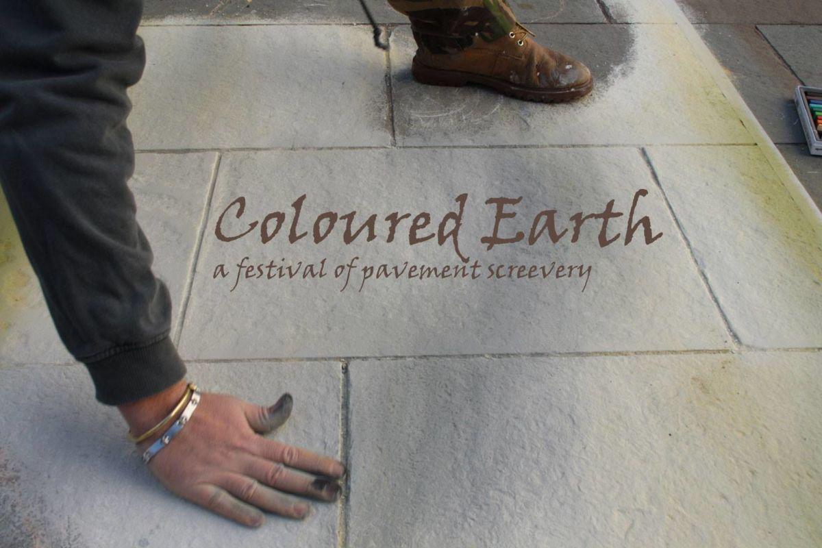 Urban canvas, gloucester, coloured earth festival